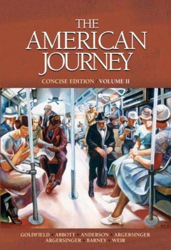 American Journey Concise Volume 2