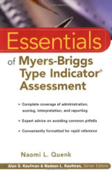 Essentials Of Myers-Briggs Type Indicator Assessment by Naomi Quenk