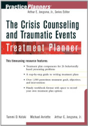 Crisis Counseling And Traumatic Events Treatment Planner