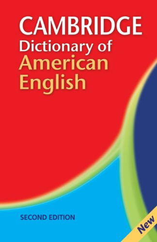 Camb Dict Of American English D