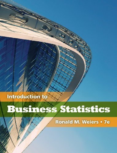 Introduction To Business Statistics