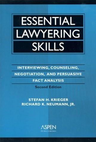 Essential Lawyering Skills