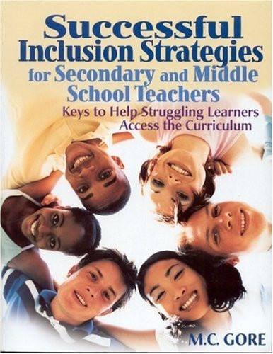 Successful Inclusion Strategies For Secondary And Middle School Teachers