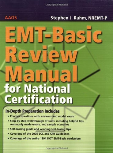 Emt-Basic Review Manual For National Certification