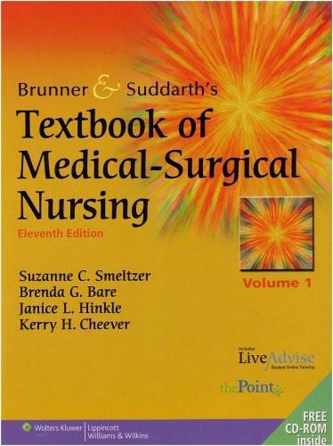 Brunner And Suddarth's Textbook Of Medical Surgical Nursing