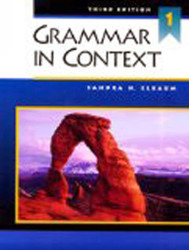 Grammar In Context Book 1