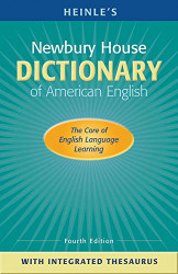 Heinle's Newbury House Dictionary Of American English With Integrated Thesaurus