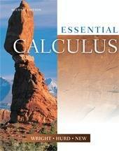 Essential Calculus Text