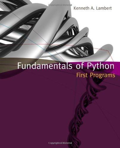 Fundamentals Of Python Data Structures