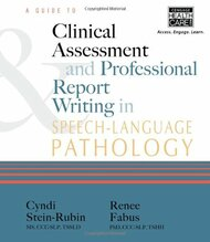 Guide to Clinical Assessment & Professional Report Writing in by Stein-Rubin