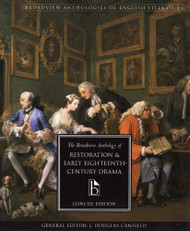 Broadview Anthology Of Restoration And Early Eighteenth Century Drama