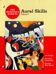 Musician's Guide To Aural Skills