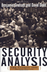 Security Analysis The Classic Edition