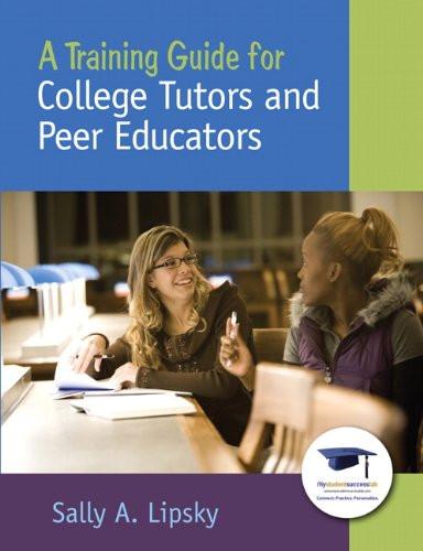 Training Guide For College Tutors And Peer Educators