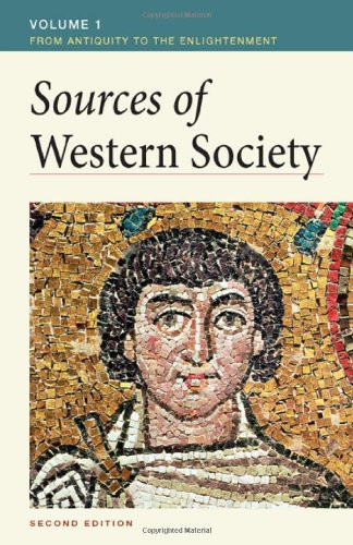 Sources Of Western Society Volume 1
