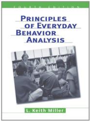 Principles Of Everyday Behavior Analysis