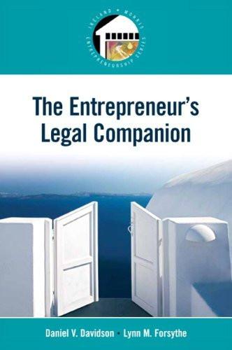 Entrepreneur's Legal Companion