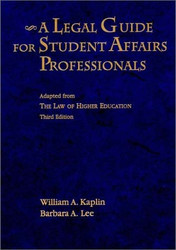 Legal Guide For Student Affairs Professionals