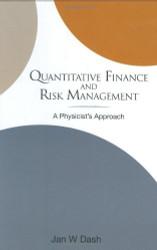Quantitative Finance And Risk Management