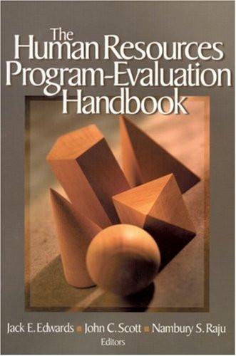 Human Resources Program-Evaluation Handbook