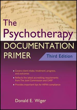 Psychotherapy Documentation Primer