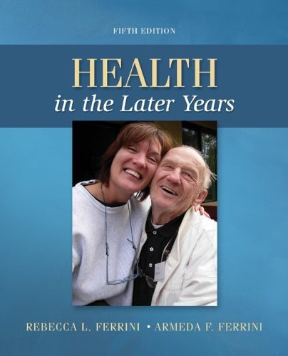 Health In The Later Years