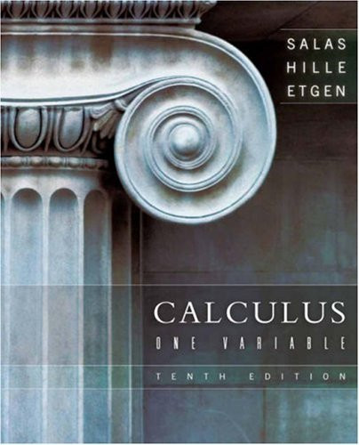 Calculus One Variable
