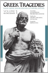 Greek Tragedies Volume 1