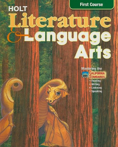 Literature And Language Arts First Course- Mastering The California Standards-