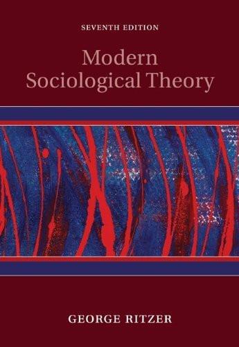 Modern Sociological Theory