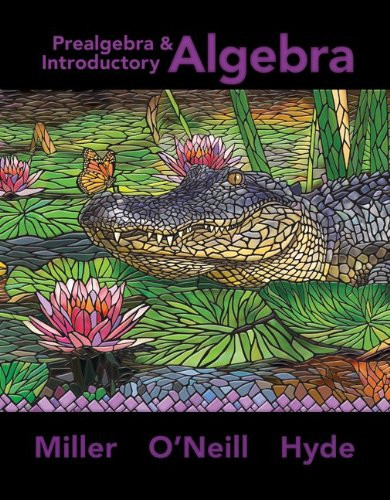 Pre-Algebra And Introductory Algebra