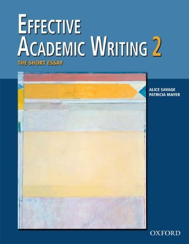 Effective Academic Writing Student Book 2