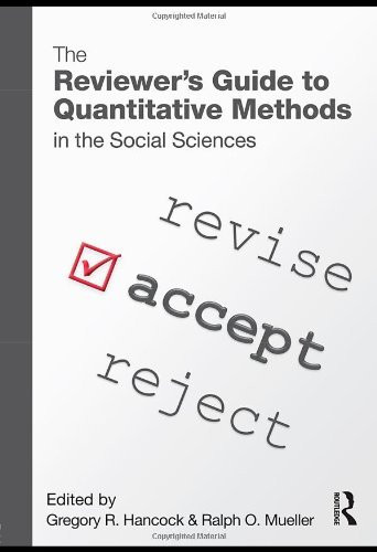 Reviewer's Guide To Quantitative Methods In The Social Sciences