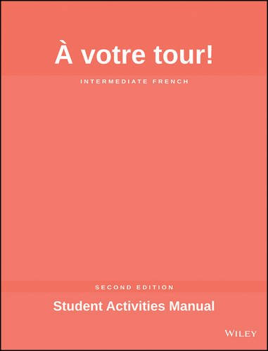 Votre Tour Student Activities Manual
