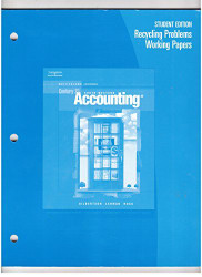 Recycling Problems Working Papers