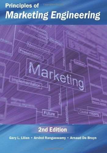 Principles Of Marketing Engineering