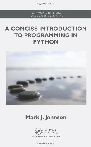 Concise Introduction To Programming In Python