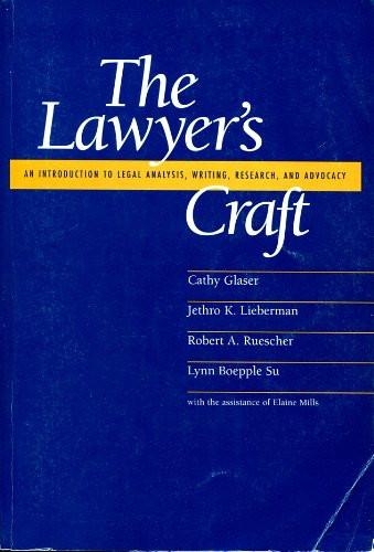 Lawyer's Craft