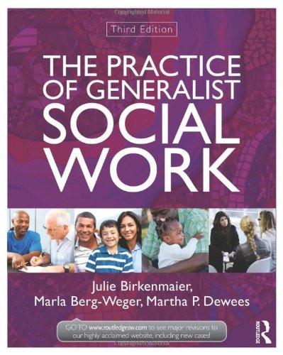 Practice Of Generalist Social Work