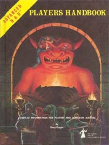 Official Advanced Dungeons And Dragons Players Handbook