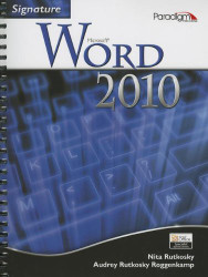 Signature Microsoft Word 2010 With Cd