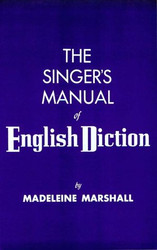 Singer's Manual Of English Diction