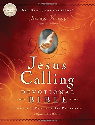 Jesus Calling Devotional Bible NKJV