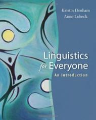 Linguistics For Everyone