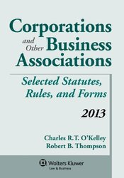 Corporations And Other Business Associations Statutory Supplement