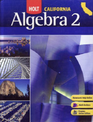 Algebra 2 California Student Edition Algebra 2