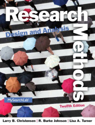 Research Methods Design And Analysis