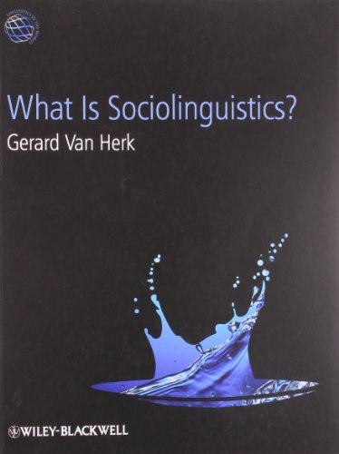 What Is Sociolinguistics?
