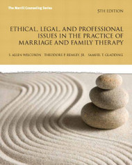Ethical Legal And Professional Issues In The Practice Of Marriage And Family
