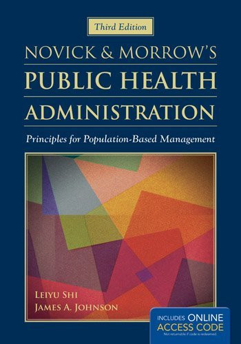Novick And Morrow's Public Health Administration